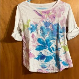Very colorful lightweight top